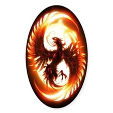 Ipad Mini red phoenix Decal
