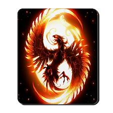 Ipad Mini red phoenix Mousepad