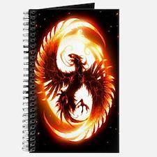 Ipad Mini red phoenix Journal