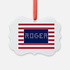 ROGER Ornament
