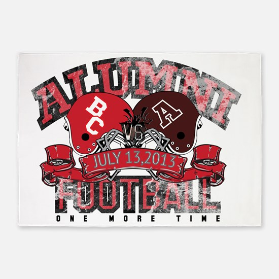 Boyd County Alumni Football Game ON 5'x7'Area Rug
