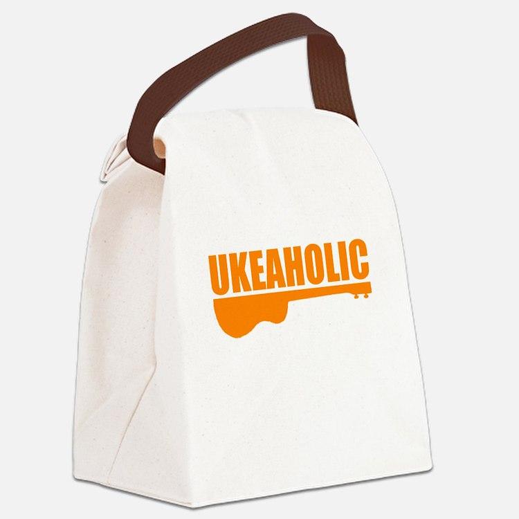 funny ukulele uke ukelele Canvas Lunch Bag
