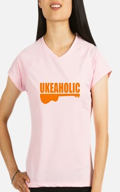 funny ukulele uke ukelele Performance Dry T-Shirt