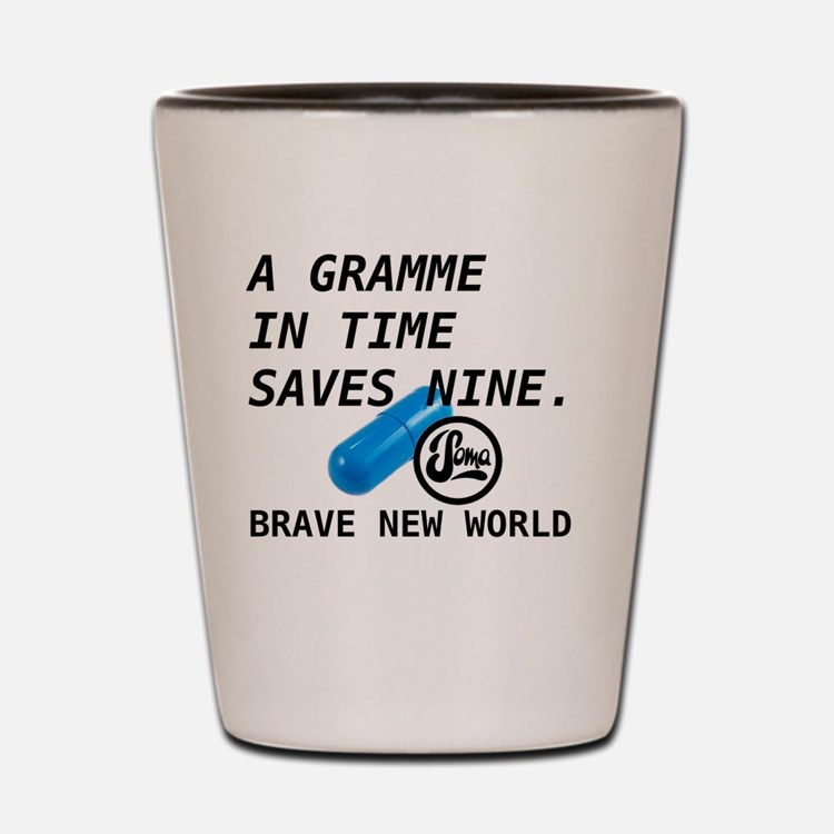 Brave New World - Gramme in Time Shot Glass