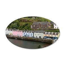 Portree, Isle of Skye, Scotl Wall Decal