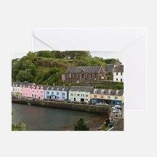 Portree, Isle of Skye, Scotland Greeting Card