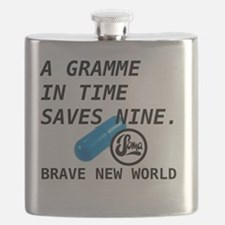 Brave New World - Gramme In Time Flask