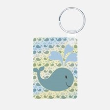 Cute Whale With Pattern Keychains