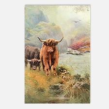 Highlands Postcards (Package of 8)