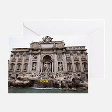 Rome_18.8x12.6_TreviFountain Greeting Card