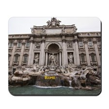 Rome_18.8x12.6_TreviFountain Mousepad