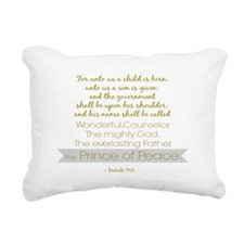 Prince of Peace Rectangular Canvas Pillow