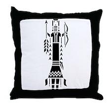 Navajo Motif Throw Pillow