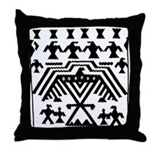 Menominee Motif Throw Pillow