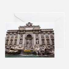 Rome_17.44x11.56_LargeServingTray_Tr Greeting Card