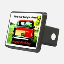 Being Classic Birthday Car Hitch Cover