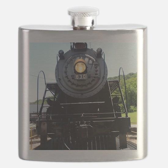 Train Engine Happy Birthday Flask