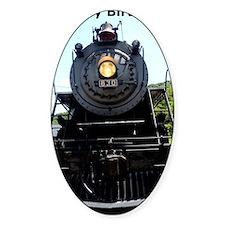 Train Engine Happy Birthday Decal