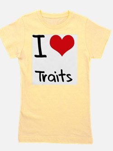 I love Traits Girl's Tee