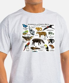 Costa Rica Animals T-Shirt