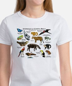 Costa Rica Animals Tee