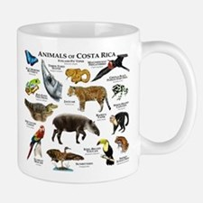 Costa Rica Animals Small Small Mug