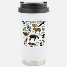 Costa Rica Animals Stainless Steel Travel Mug
