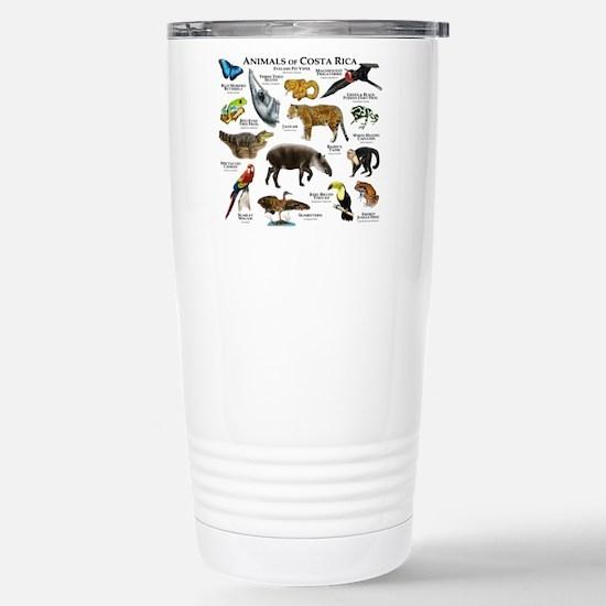 Costa Rica Animals Stainless Steel Travel Mug