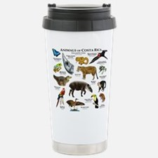 Costa Rica Animals Travel Mug