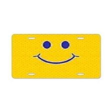 Happy Tag Aluminum License Plate