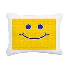 Happy Tag Rectangular Canvas Pillow