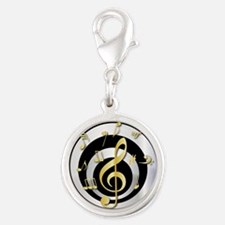 Stylish Gold and silver musical Clef Charms