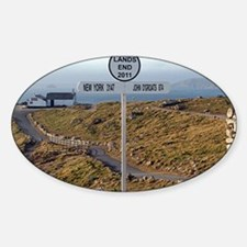 Lands End, Cornwall, England, UK 2 Decal