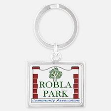 Robla Park Pocket Image Landscape Keychain