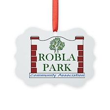 Robla Park Pocket Image Ornament
