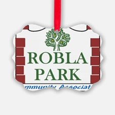 Robla Park Pocket Image Ornament