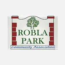 Robla Park Pocket Image Rectangle Magnet