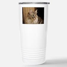 Norwegian Forest Cat Travel Mug
