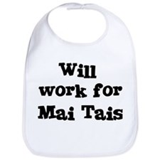 Will work for Mai Tais Bib