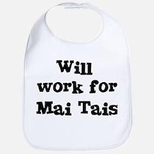 Will work for Mai Tais Bib