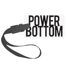 Power Bottom Luggage Tag