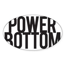 Power Bottom Decal