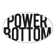Power Bottom Decal