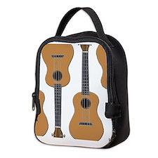 ukulele uke Neoprene Lunch Bag
