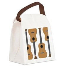 ukulele uke Canvas Lunch Bag