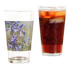 Bluebells Drinking Glass