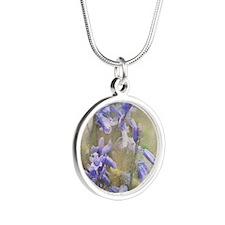 Bluebells Silver Round Necklace