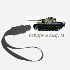 PzKpfw III Ausf. M w text Luggage Tag