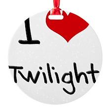I love Twilight Ornament