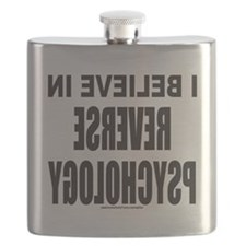 I BELIEVE IN REVERSE PSYCHOLOGY T-SHIRTS AND Flask